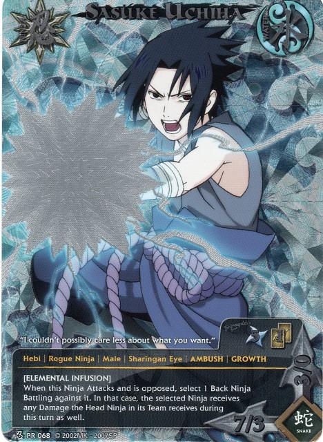 Studio Pierrot, Naruto, Sasuke Uchiha, Trading Cards