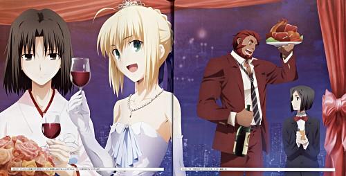 TYPE-MOON, Fate/Zero, Kara no Kyokai, TYPE-MOON Fes.10th Anniversary Event Official Pamphlet, Rider (Fate/Zero)
