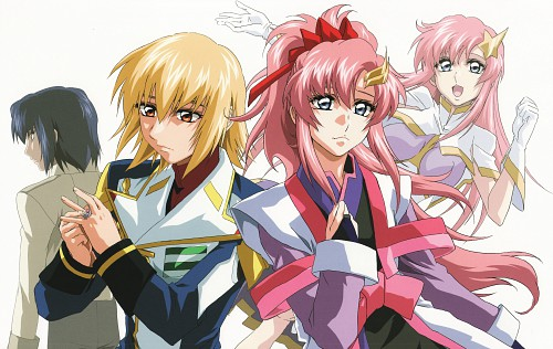 Hisashi Hirai, Sunrise (Studio), Mobile Suit Gundam SEED Destiny, Mobile Suit Gundam Seed & Seed Destiny Pinup Collection, Meer Campbell