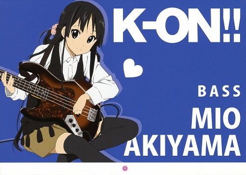 Kakifly, Kyoto Animation, K-On!, K-On! Mini Illustration Book, Mio Akiyama
