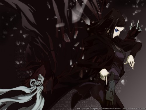 Geneon/Pioneer, Ergo Proxy, Ergo Proxy (Character), Re-l Mayer Wallpaper