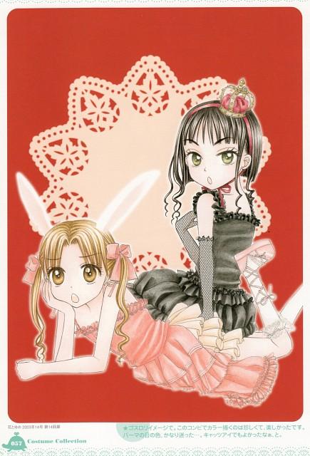 Tachibana Higuchi, Gakuen Alice, Gakuen Alice Illustration Fan Book, Mikan Sakura, Sumire Shouda