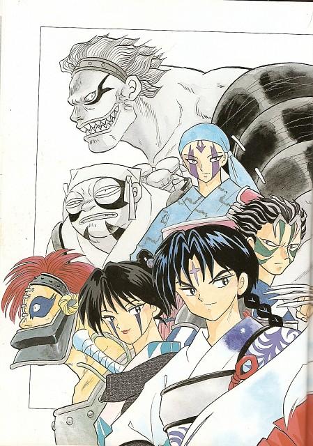 Rumiko Takahashi, Inuyasha, Jakotsu, Kyokotsu, Renkotsu