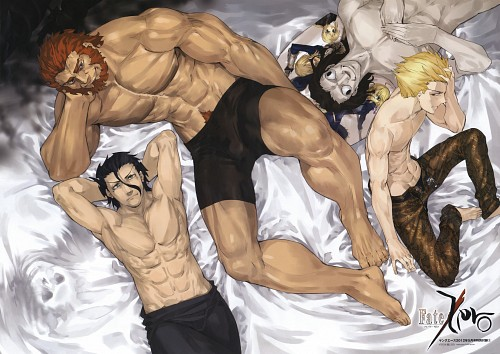 Shinjirou, Ufotable, TYPE-MOON, Fate/Zero, Gilgamesh (Fate/stay night)