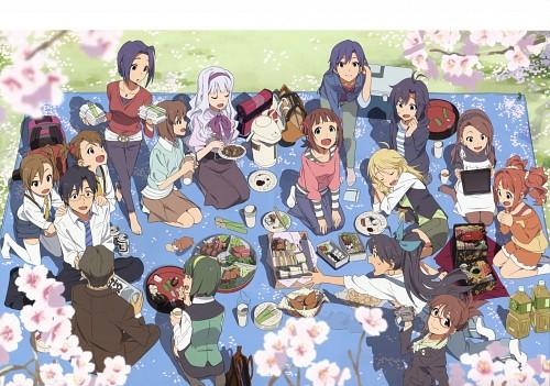 The Idolm@ster Visual Collection Vol.2, Idol Master, Mami Futami, Miki Hoshii, Makoto Kikuchi