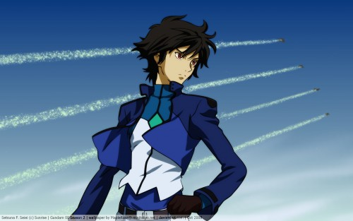 Mobile Suit Gundam 00 Wallpaper