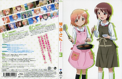 Anime International Company, Kotoura-san, Hiyori Moritani, Haruka Kotoura, DVD Cover