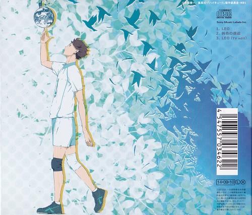 Haruichi Furudate, Production I.G, Haikyuu!!, Tooru Oikawa (Haikyu!!), Album Cover