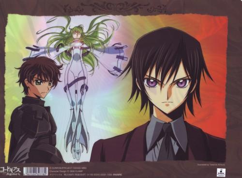 Takahiro Kimura, Sunrise (Studio), Lelouch of the Rebellion, Lelouch Lamperouge, Suzaku Kururugi