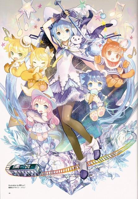 Fujiwara, Snow Miku 5th Anniversary Memorial Book, Vocaloid, Miku Hatsune, Kaito
