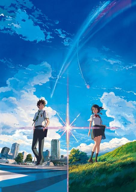 Makoto Shinkai, CoMix Wave Films, Kimi no Na wa, Katsuhiko Teshigawara, Taki Tachibana