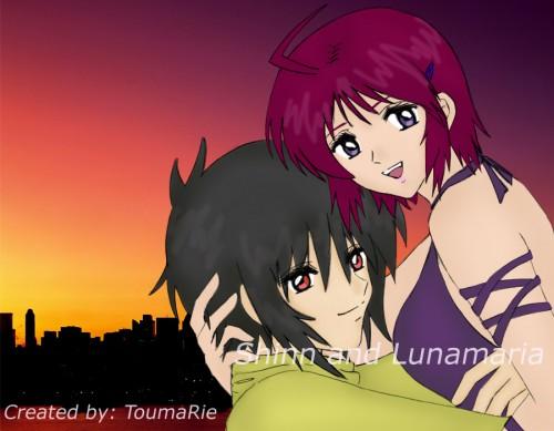 Sunrise (Studio), Mobile Suit Gundam SEED Destiny, Shinn Asuka, Lunamaria Hawke, Member Art