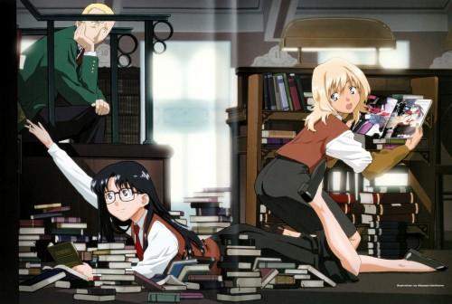 Studio DEEN, Read Or Die, Wendy Earhart, Yomiko Readman, Joker (Read Or Die)