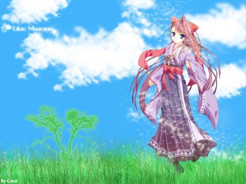 Princess Soft, Sora-iro no Organ, Millet Wallpaper
