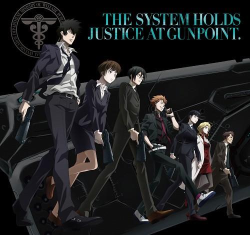 Production I.G, PSYCHO-PASS, Kagari Shuusei, Ginoza Nobuchika, Masaoka Tomomi