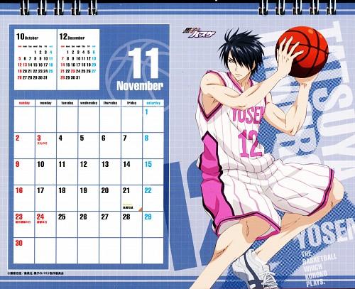Tadatoshi Fujimaki, Production I.G, Kuroko no Basket, Kuroko No Basket Calendar 2014, Tatsuya Himuro