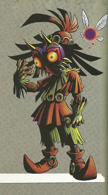 The Legend of Zelda, The Legend of Zelda: Majora's Mask, Skull Kid