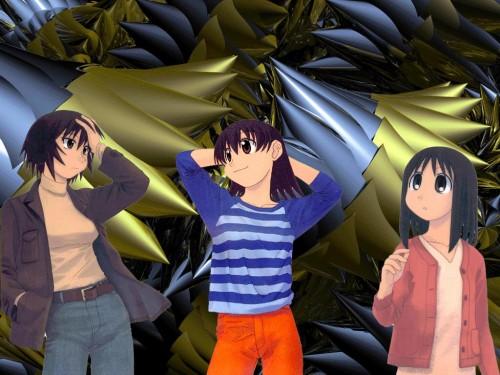 Kiyohiko Azuma, J.C. Staff, Azumanga Daioh, Tomo Takino, Ayumu Kasuga (Azumanga Daioh) Wallpaper