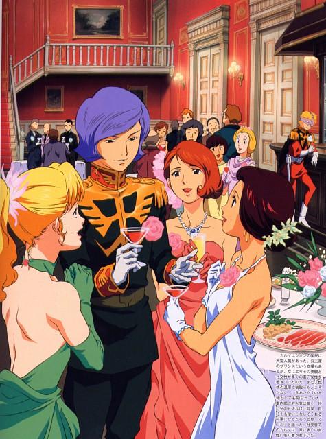 Toshihiro Kawamoto, Sunrise (Studio), Mobile Suit Gundam 0079, Mobile Suit Gundam - Universal Century, Garma Zabi