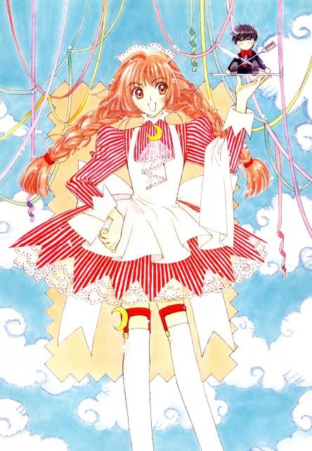 CLAMP, Madhouse, Cardcaptor Sakura, Cardcaptor Sakura Illustrations Collection 2, Nakuru Akizuki