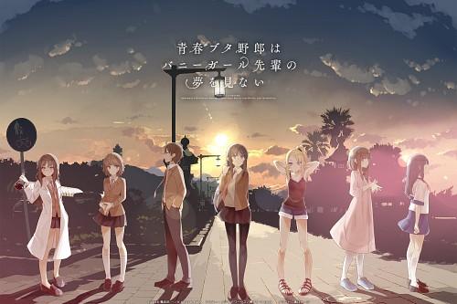 Keji Mizoguchi, Cloverworks, Seishun Buta Yarou wa Bunny Girl Senpai no Yume wo Minai, Mai Sakurajima, Kaede Azusagawa