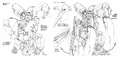 Sunrise (Studio), Mobile Suit Zeta Gundam, Mobile Suit Gundam - Universal Century, Advance of Z, Vehicle Designs