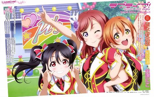 Natsu Otono, Love Live! School Idol Project, Maki Nishikino, Niko Yazawa, Rin Hoshizora