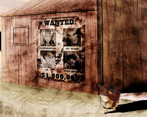 Toshihiro Kawamoto, Sunrise (Studio), Cowboy Bebop, Ein, Spike Spiegel Wallpaper