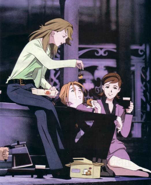 Sunrise (Studio), Witch Hunter Robin, Robin Sena, Miho Karasuma, Yurika Doujima