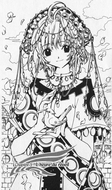 CLAMP, Tsubasa Reservoir Chronicle, Sakura Kinomoto, Chapter Cover