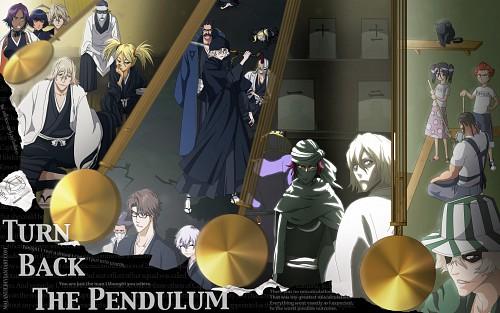Kubo Tite, Studio Pierrot, Bleach, Gin Ichimaru, Yoruichi Shihouin Wallpaper