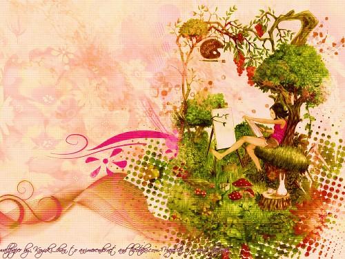 Alpaca, Pixiv Girls Collection, Pixiv Wallpaper