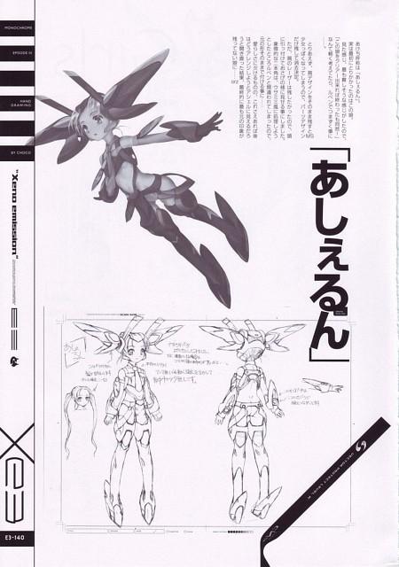 Xeno Emission E3, Xenosaga, E.S. Asher, Character Sheet