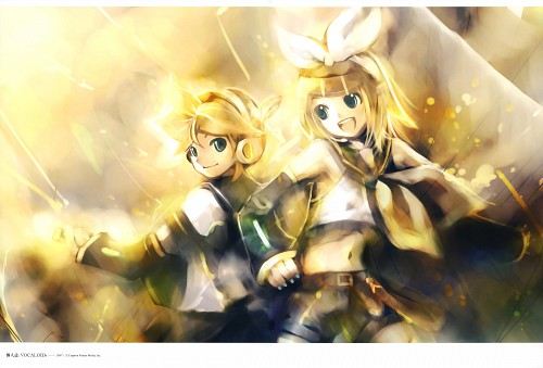 KEI, Vocaloids Unofficial Illustrations, Keigarou - KEI's Gallery, Vocaloid, Len Kagamine