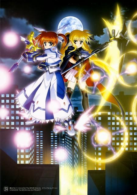 Seven Arcs, Mahou Shoujo Lyrical Nanoha, MSLN The Movie 2nd A's Visual Collection First, Nanoha Takamachi, Fate Testarossa