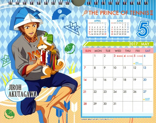 Takeshi Konomi, Production I.G, Prince of Tennis, Jirou Akutagawa, Calendar