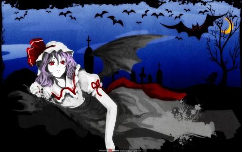 Touhou, Remilia Scarlet Wallpaper