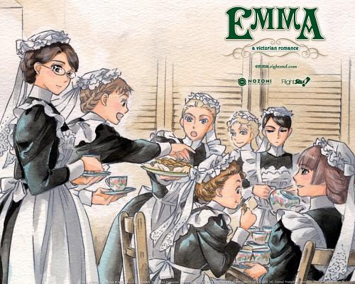 Kaoru Mori, Studio Pierrot, Victorian Romance Emma, Emma (Victorian Romance Emma)