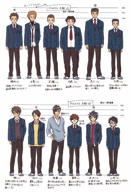 Kyoto Animation, The Melancholy of Suzumiya Haruhi, Character Sheet