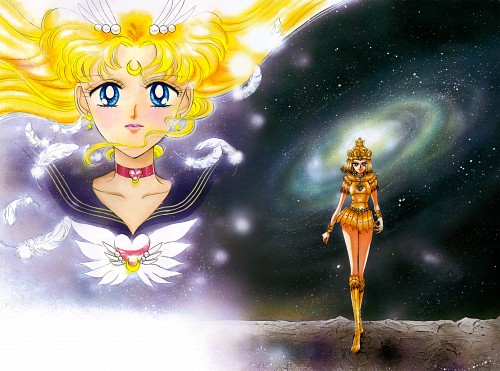 Naoko Takeuchi, Bishoujo Senshi Sailor Moon, BSSM Original Picture Collection Vol. V, Eternal Sailor Moon, Sailor Galaxia