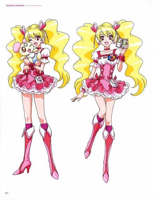Toei Animation, Fresh Precure!, Hisashi Kagawa Toei Animation Precure Works, Cure Peach, Chiffon
