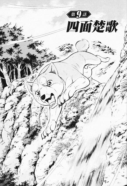 Yoshihiro Takahashi, Ginga: Nagareboshi Gin, Orion (Ginga: Nagareboshi Gin), Chapter Cover