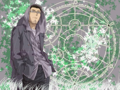 Hiromu Arakawa, BONES, Fullmetal Alchemist, Maes Hughes Wallpaper