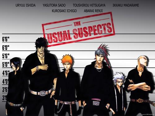 Kubo Tite, Studio Pierrot, Bleach, Ikkaku Madarame, Ichigo Kurosaki Wallpaper