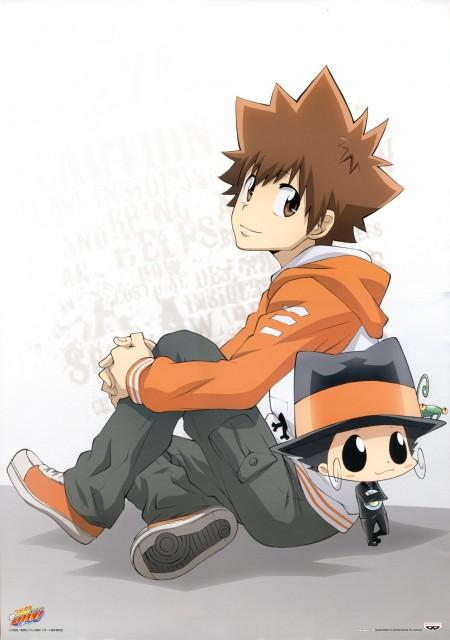 Akira Amano, Artland, Katekyo Hitman Reborn!, Leon (Katekyo Hitman Reborn!), Tsunayoshi Sawada