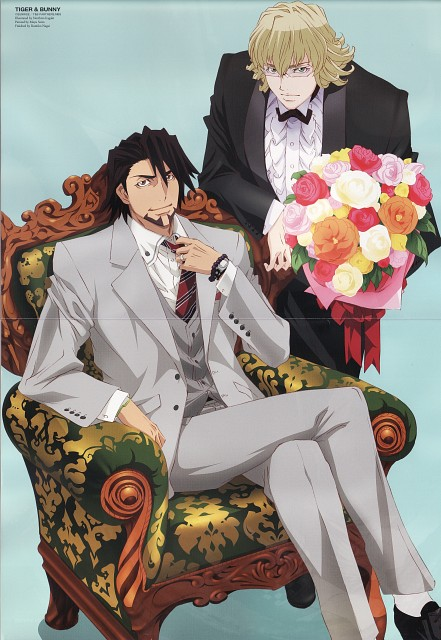 Sunrise (Studio), Tiger and Bunny, Barnaby Brooks Jr., Kotetsu T. Kaburagi, Prince Animage