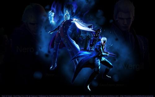 Madhouse, Capcom, Devil May Cry, Vergil, Nero Wallpaper
