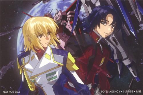 Sunrise (Studio), Mobile Suit Gundam SEED Destiny, Athrun Zala, Cagalli Yula Athha