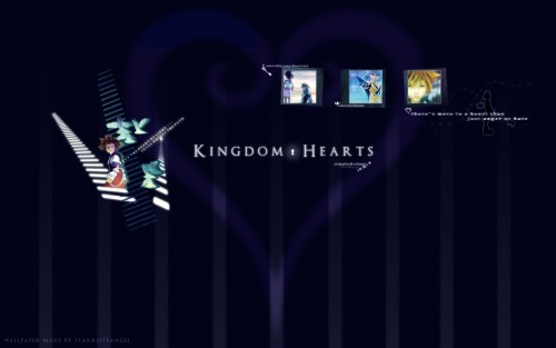 Square Enix, Kingdom Hearts, Kairi, Sora, Riku Wallpaper