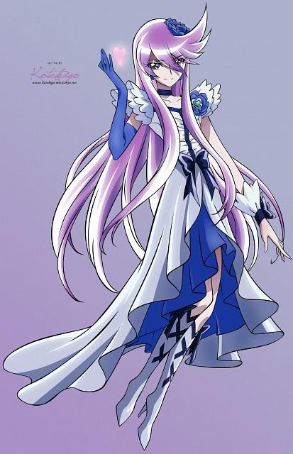 Toei Animation, HeartCatch Precure!, Cure Moonlight, Vector Art